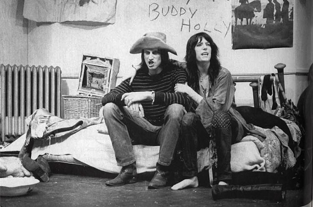 Shepard and Patti Smith in  Cowboy Mouth  (American Place Theatre, 1971)