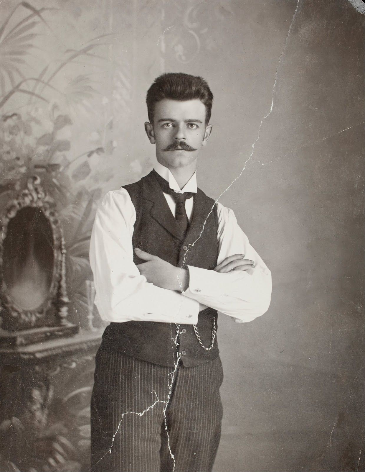 Guillermo Kahlo, Frida's German expat father. He changed his name from Wilhelm. Similarly, Frida changed the spelling of her name to make it less German.