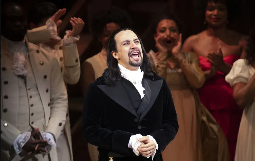Lin-Manuel Miranda performs  Hamilton  in Puerto Rico, 2019.  (Photo by GDA via AP)  | TheNation.com