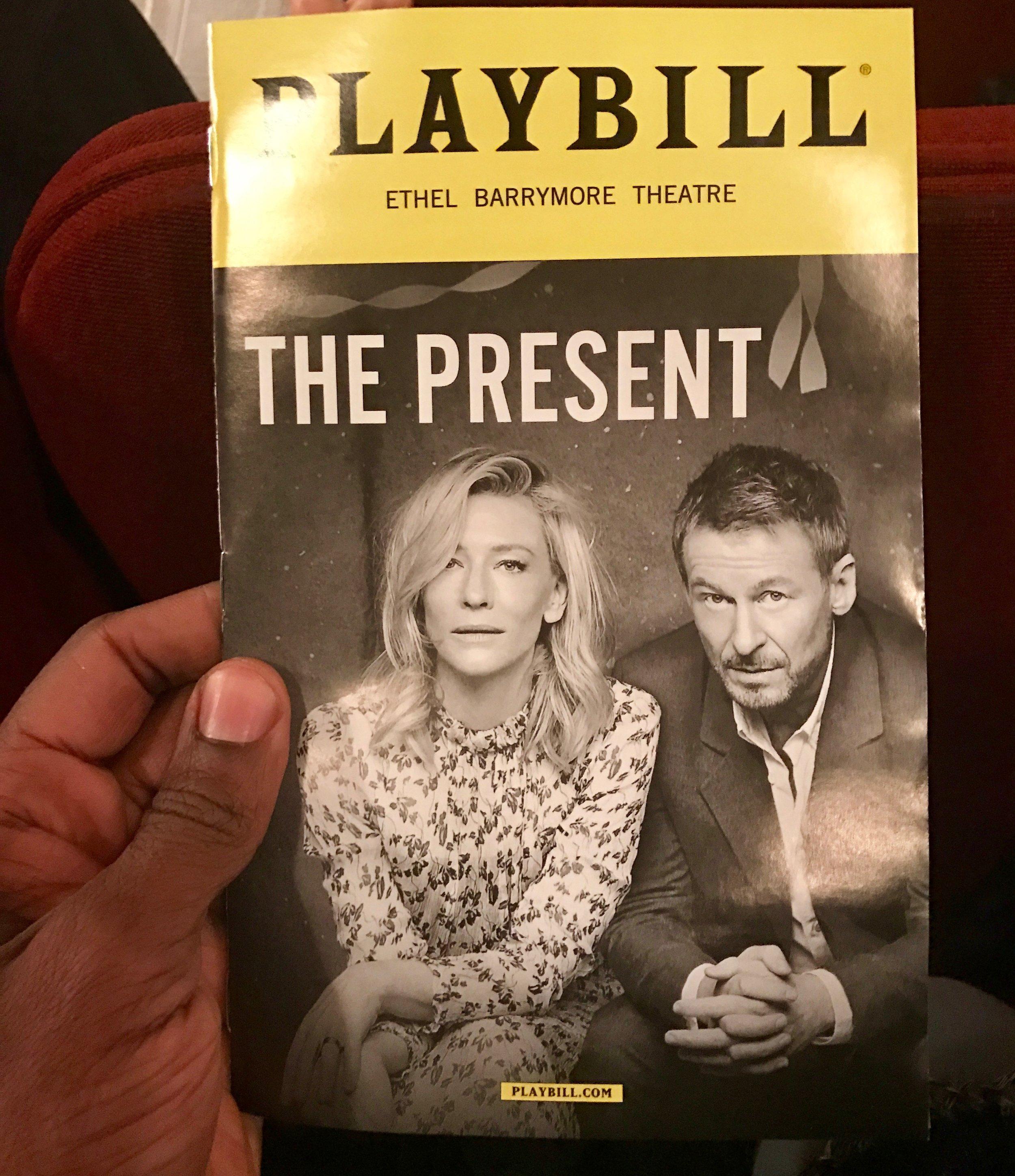 The Present Playbill