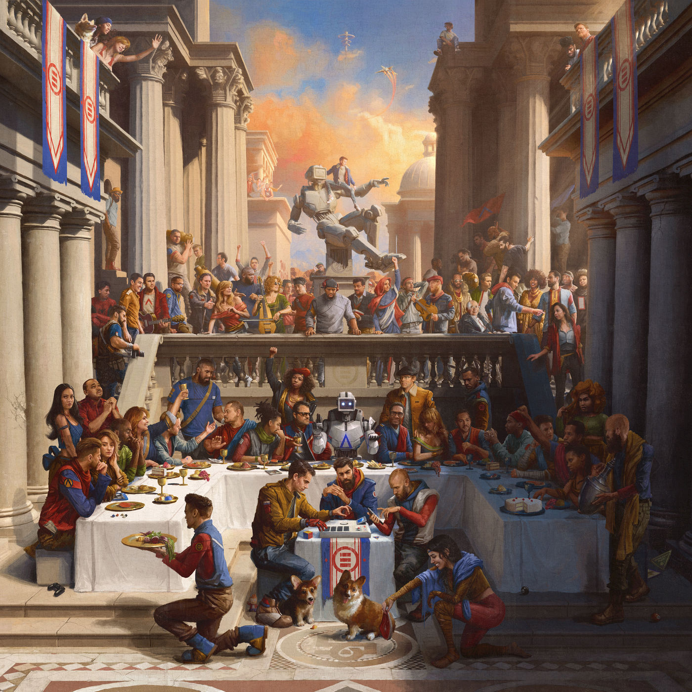 Logic Everbody Album Cover
