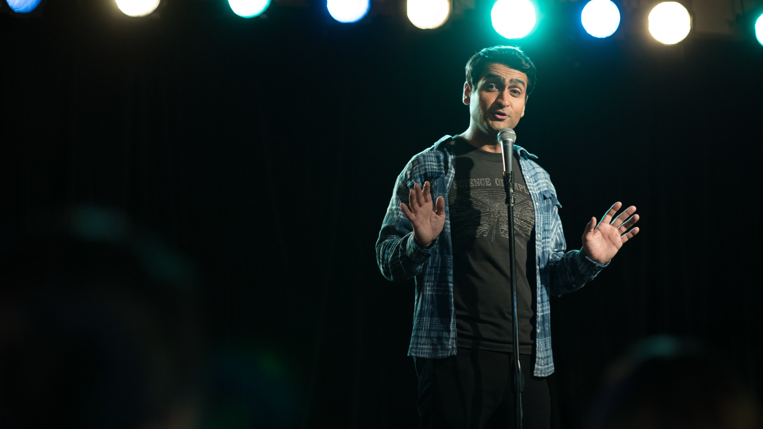 The Big Sick- Kumail performing