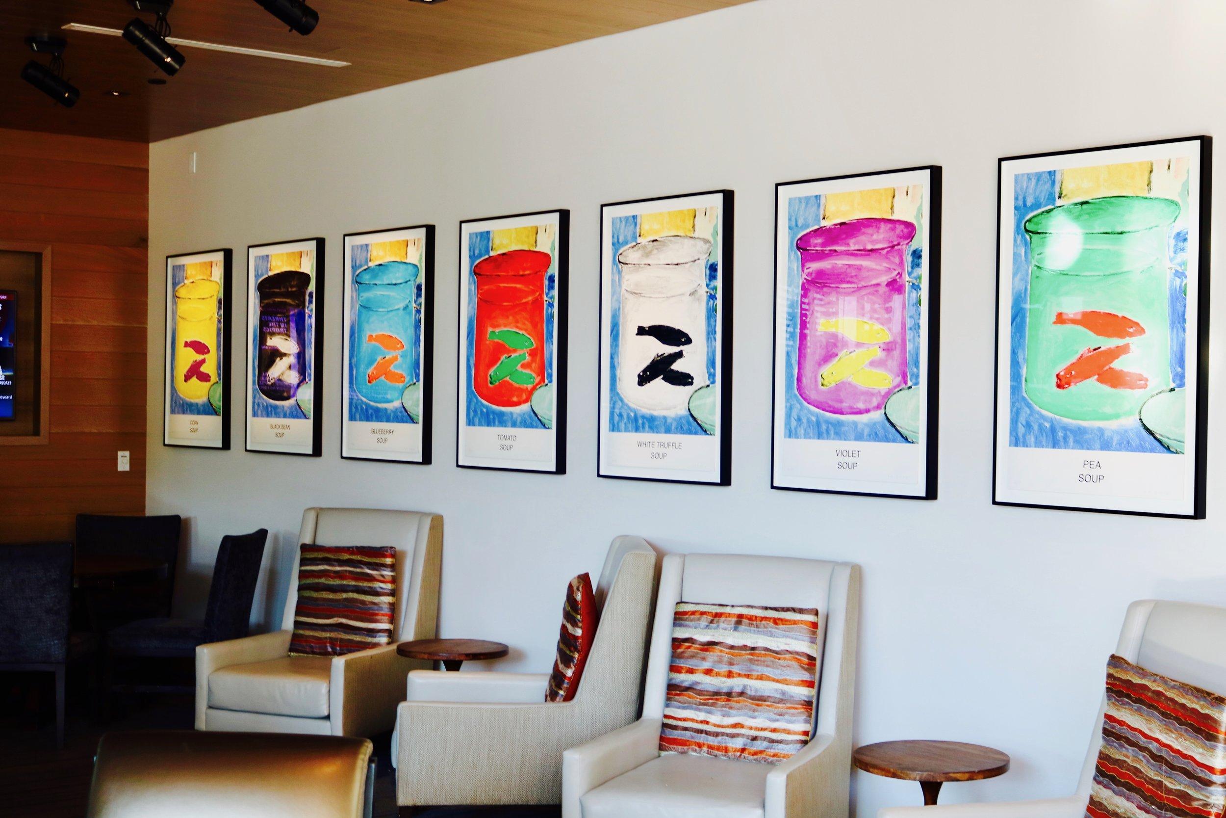 """Artist: John Baldessari """"Eight Soups,"""" 2012 Photo by: DJB for TBOT"""