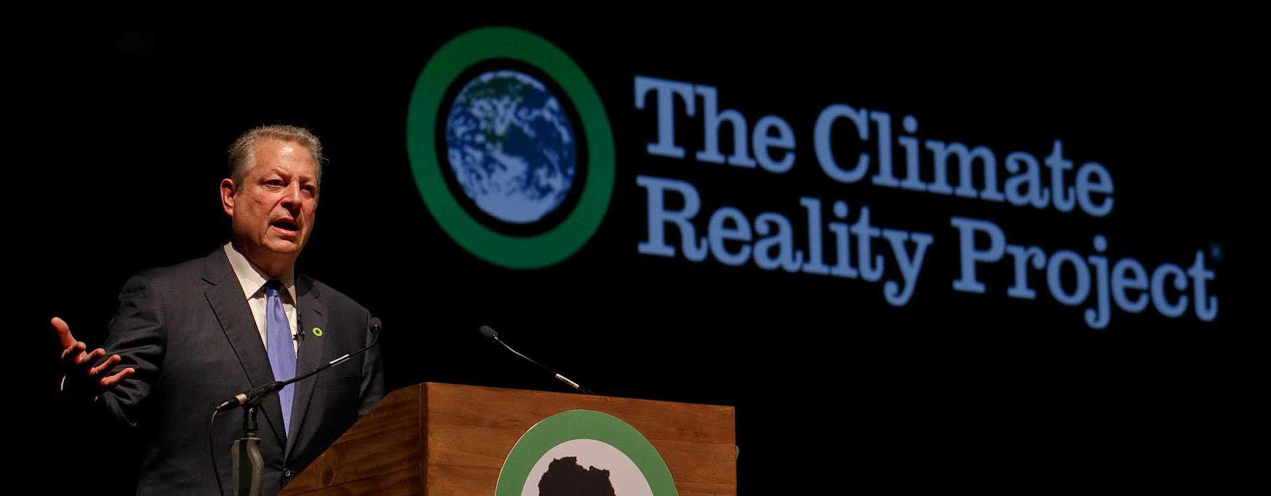 Al Gore speaking