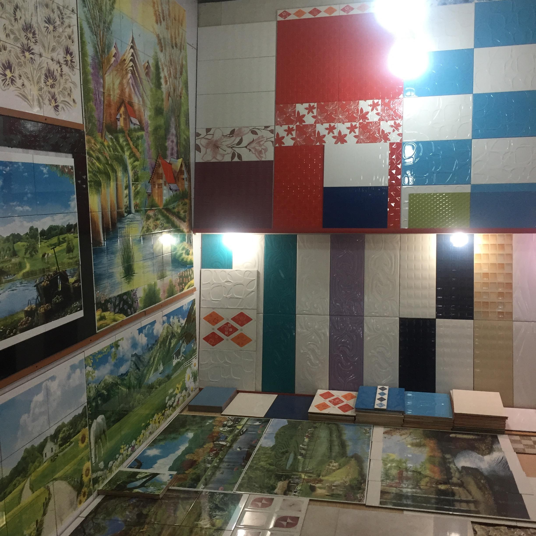 Funky ceramic tile industry.