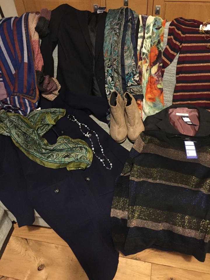 some finds from the charity shopping tour