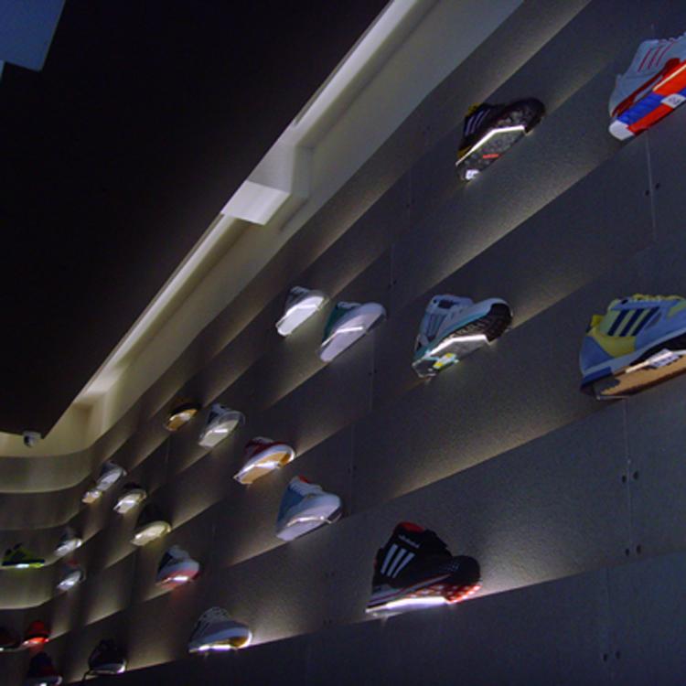 adidas store design interior, Carnaby Street London