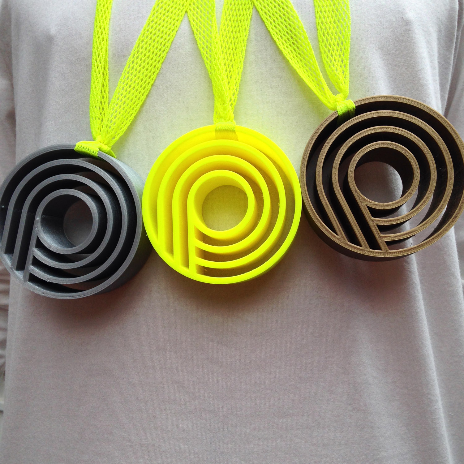 'Puddle Dash' the Plume mudguard video game medals