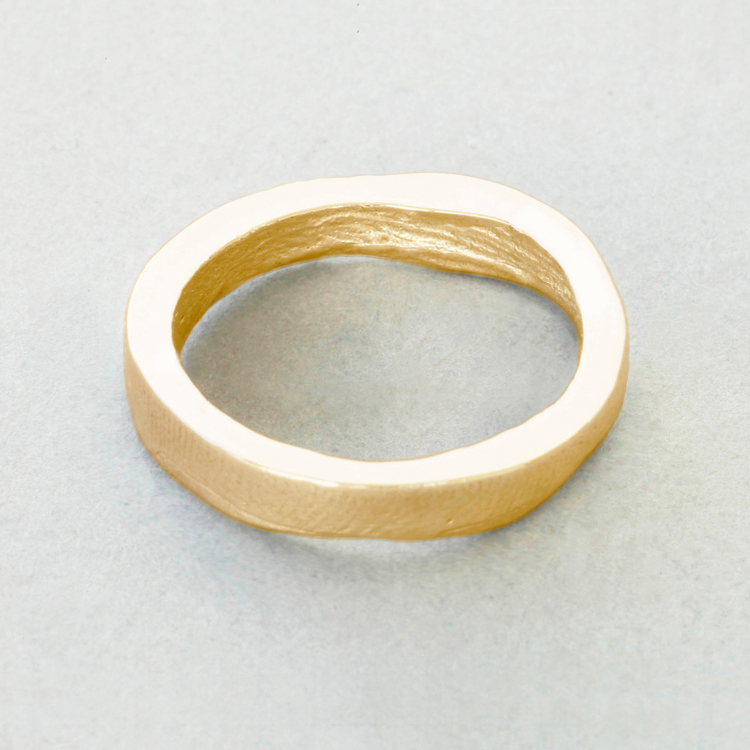 9ct_Yellow_Gold_'slender'_buffed_exterior_surface_Patrick_Laing_You_&_Me_wedding_rings.jpg
