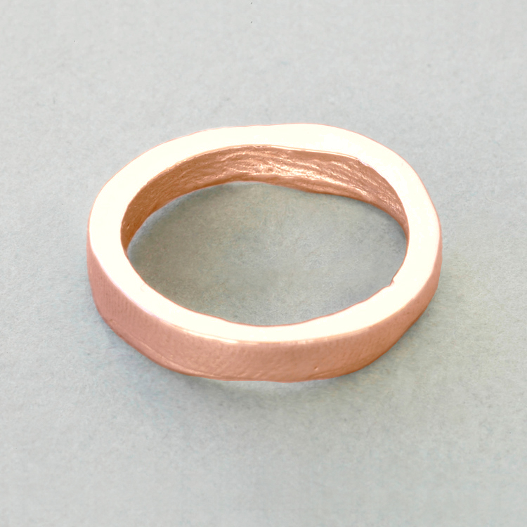 9ct_Rose_Gold_'slender'_polished_exterior_surface_Patrick_Laing_You_&_Me_wedding.jpg
