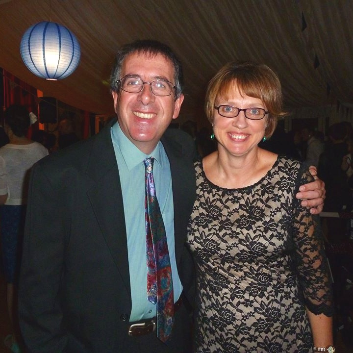 Alison Cox and her husband Martin