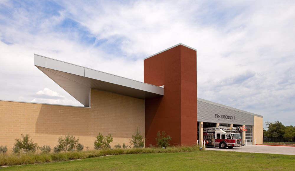 Lancaster Public Safety Facility by Seattle Fire Station design expert TCA Architecture