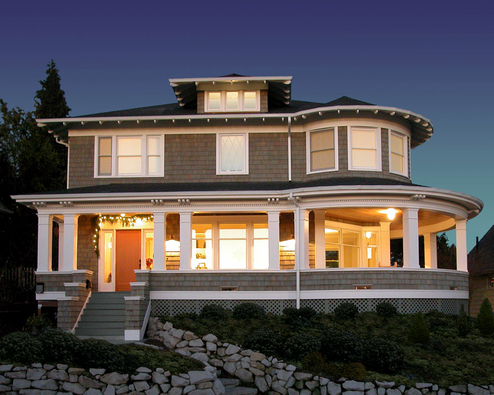Seattle Residential Architect TCA Architecture designed this beautiful high end Seattle Residence in Green Lake
