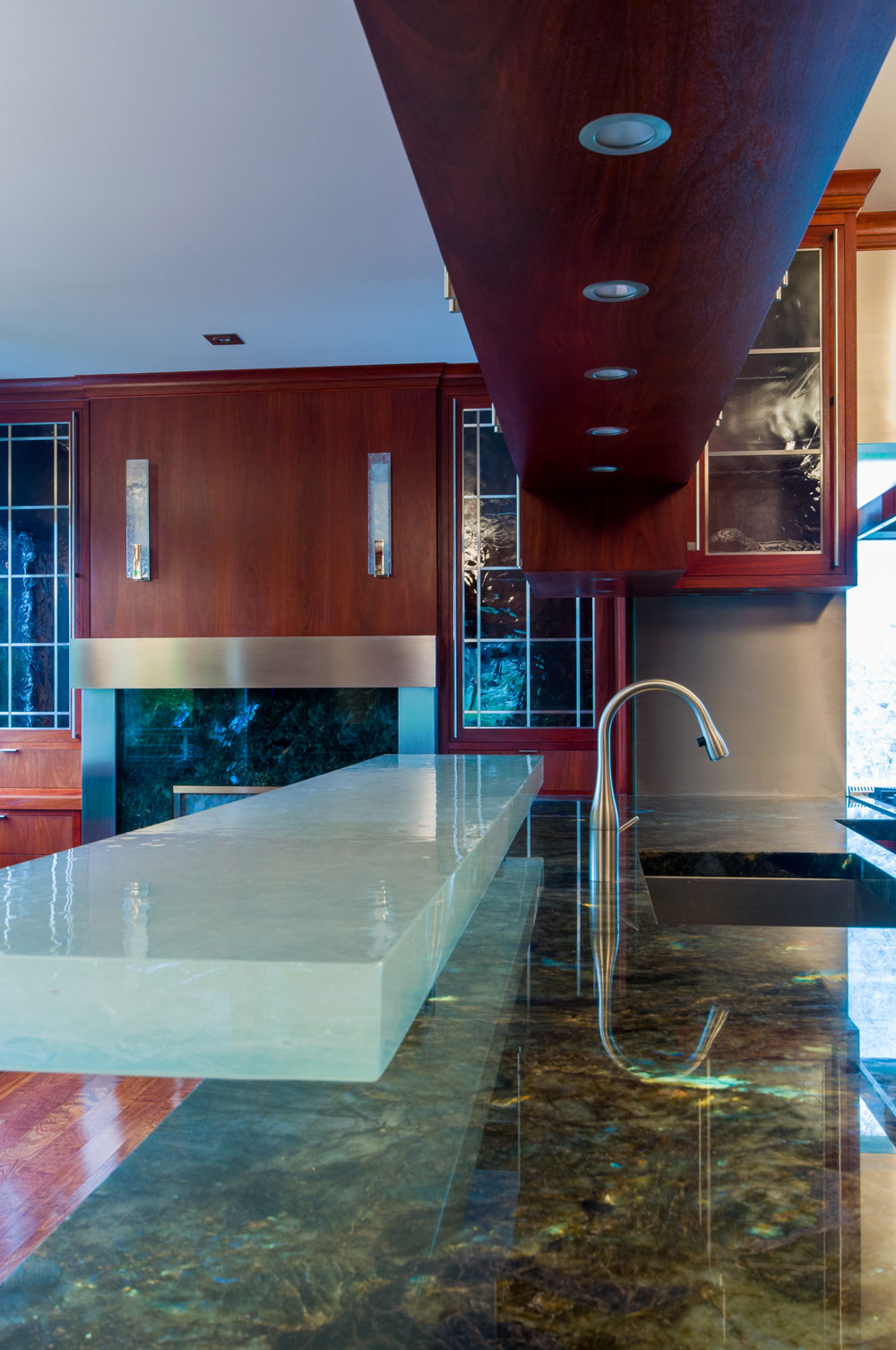 Seattle Residential Architect TCA Architecture designed this high end residential property in Capitol Hill