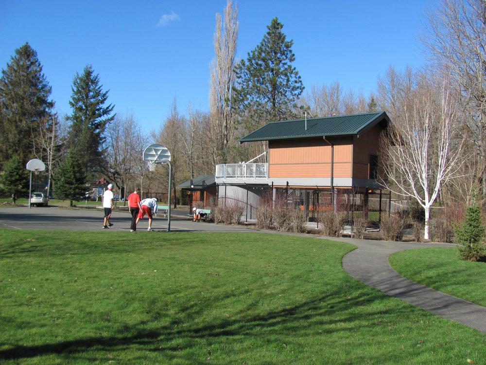 Snoqualmie Pump Station designed by Seattle Architect TCA Architecture