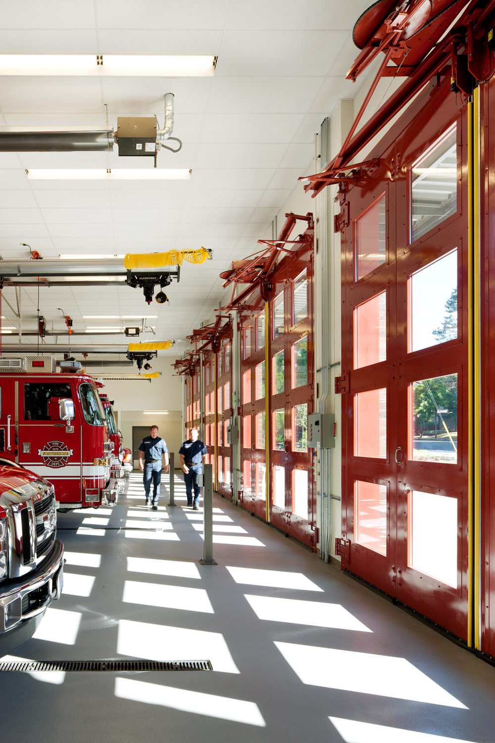 Northshore Fire Station 51 in Kenmore Washington designed by Fire Station Design Expert TCA Architecture