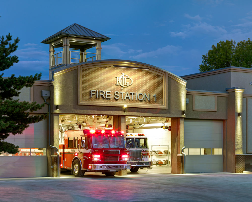 City of Grand Junction Fire Station 1 Remodel by Fire Station Design Expert TCA Architecture