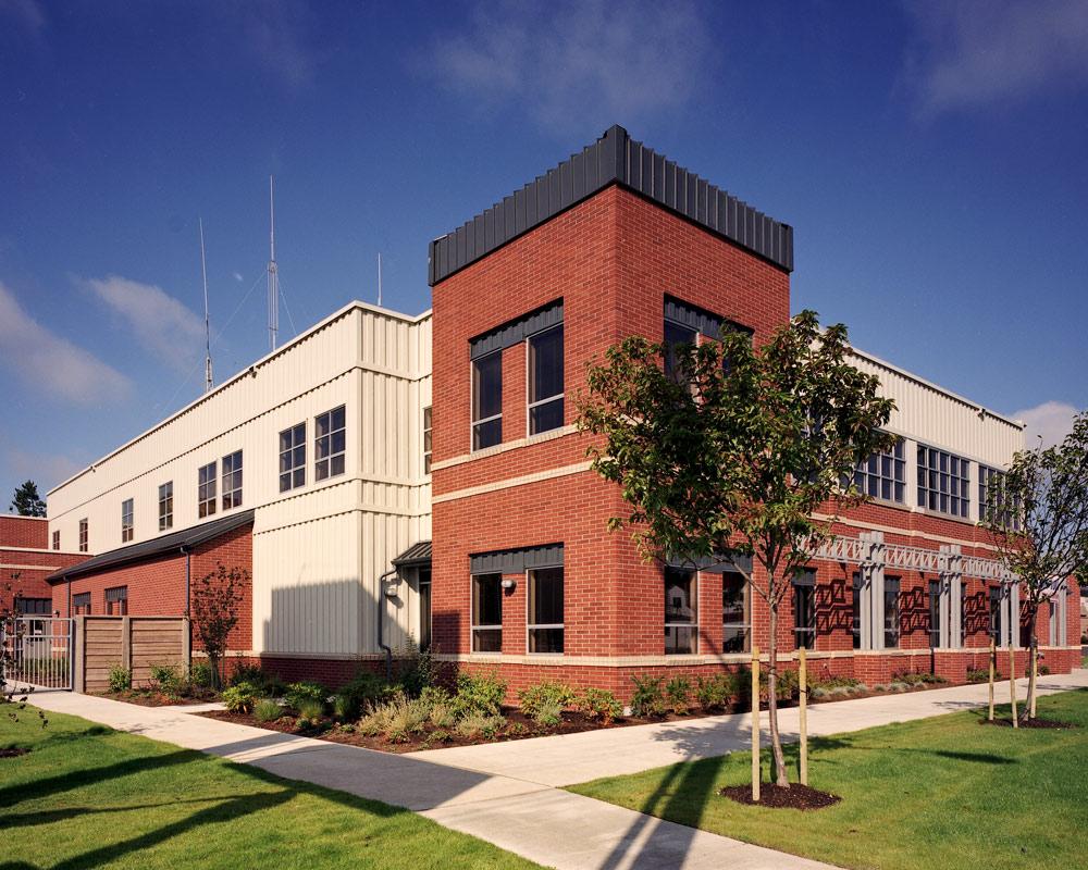 City of Shoreline Facility by Seattle Architect TCA Architecture