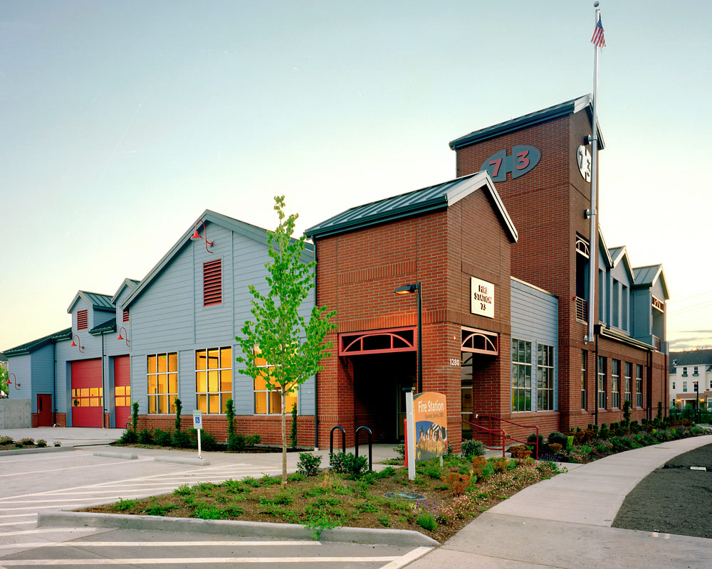 Eastside Fire and Rescue Issaquah Highlands Fire Station by TCA Architecture