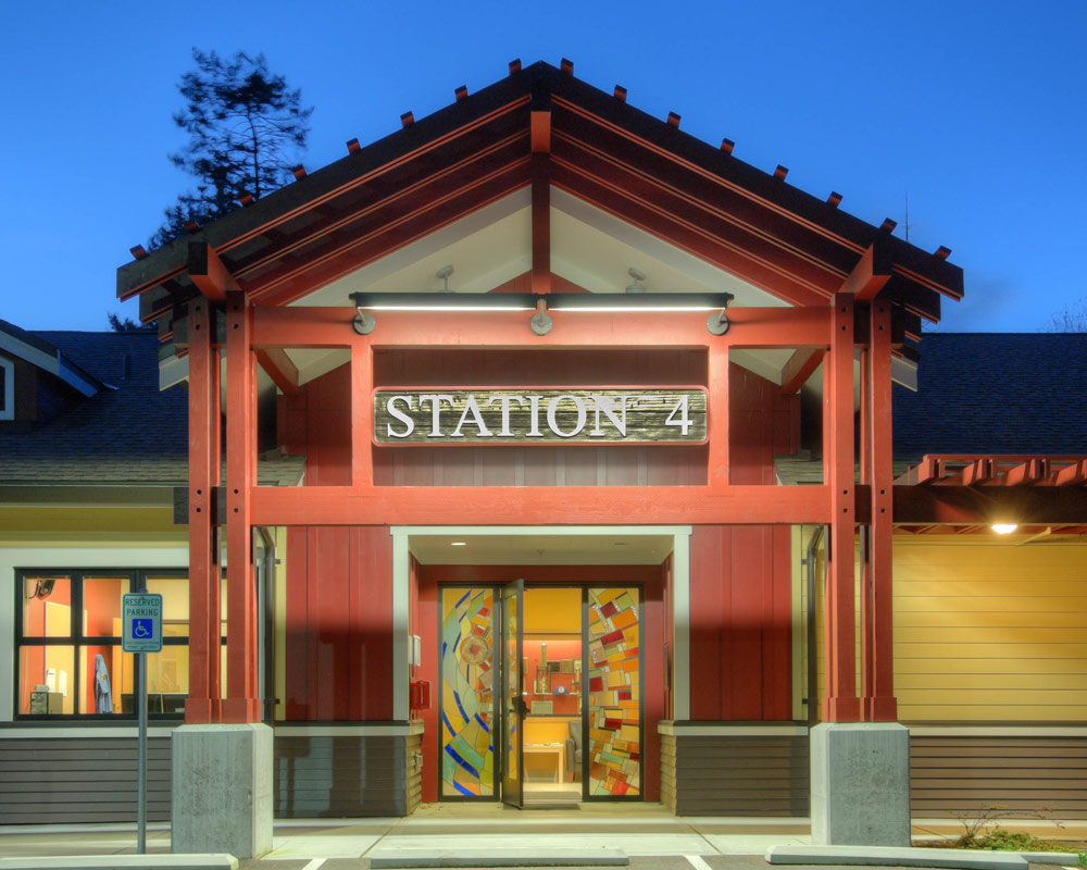 Camano Island Fire and Rescue by Seattle Architect TCA Architecture
