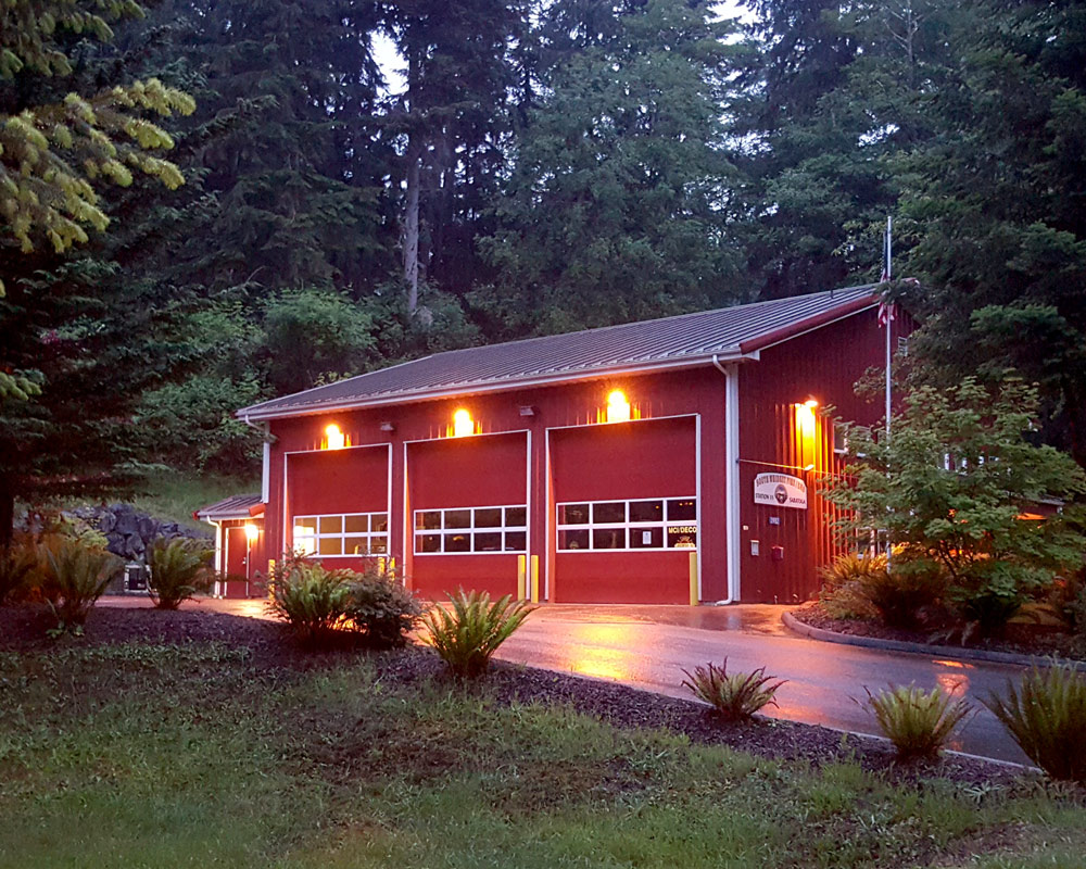 Island County Fire and Rescue by Seattle Architect TCA Architecture