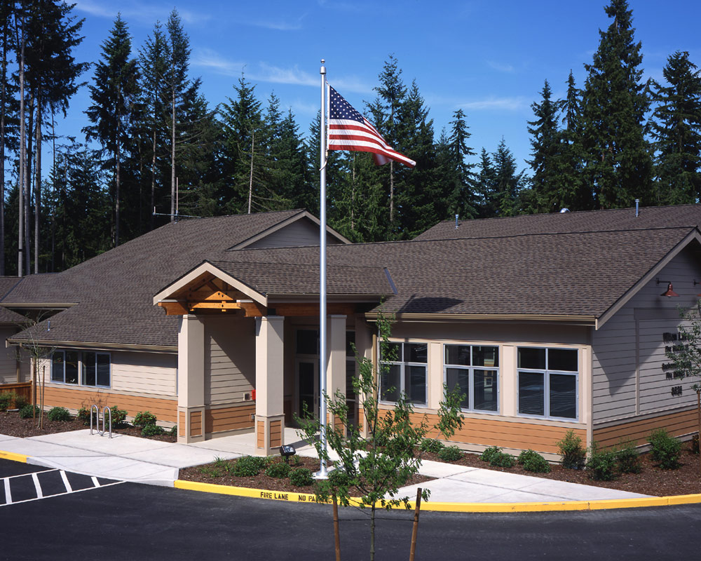 Snohomish County Hilton Lake Fire Station 12 by Seattle Fire Station Design Expert TCA Archittecture