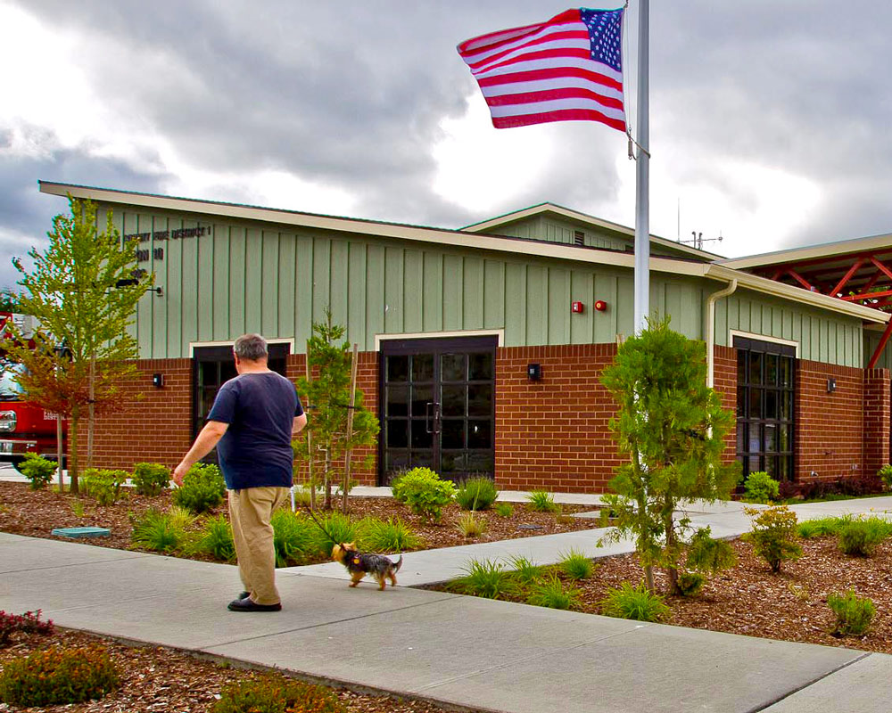 Snohomish County Fire District 1 Fire Station 10 by Seattle Architect TCA Architecture