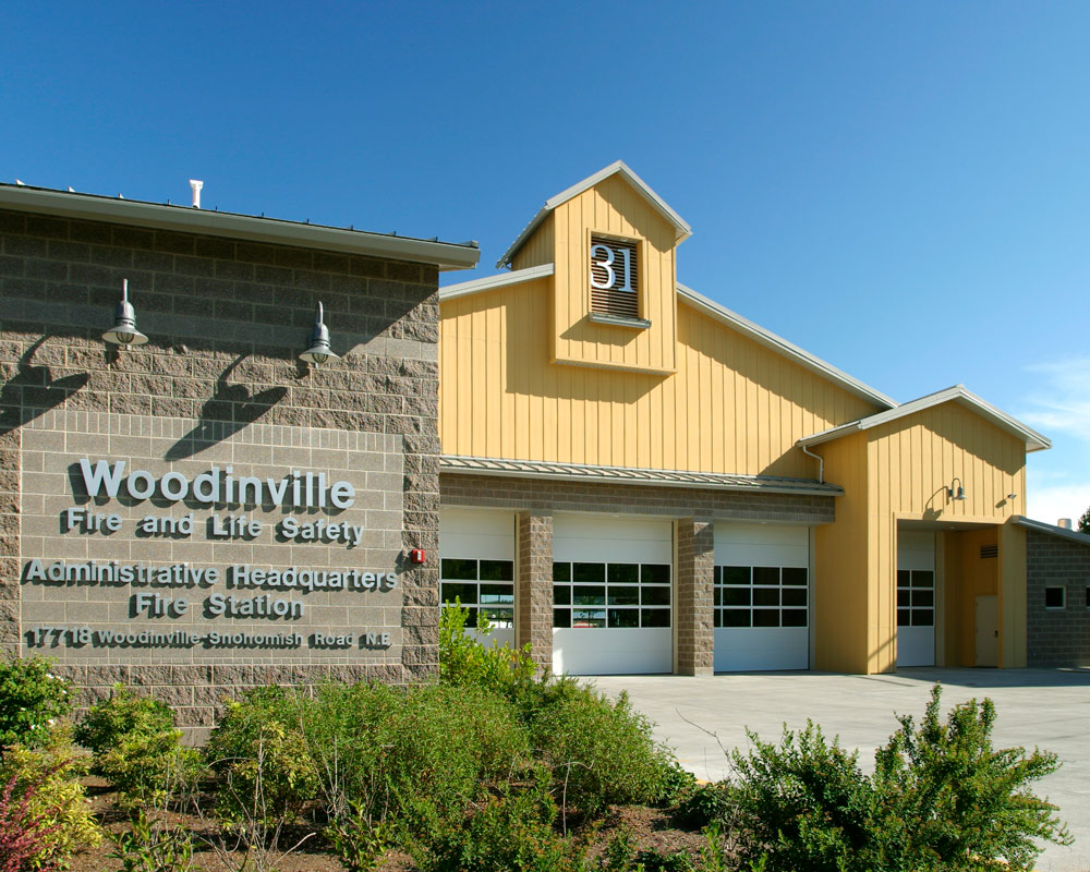 Woodinville Fire and Life Safety Headquarters Fire Station by Fire Station Design Expert TCA Architecture