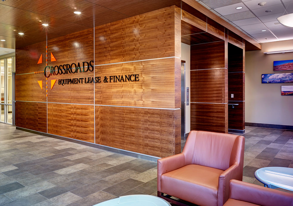 Crossroads Lease and Finance Center designed by Seattle Architect TCA Architecture