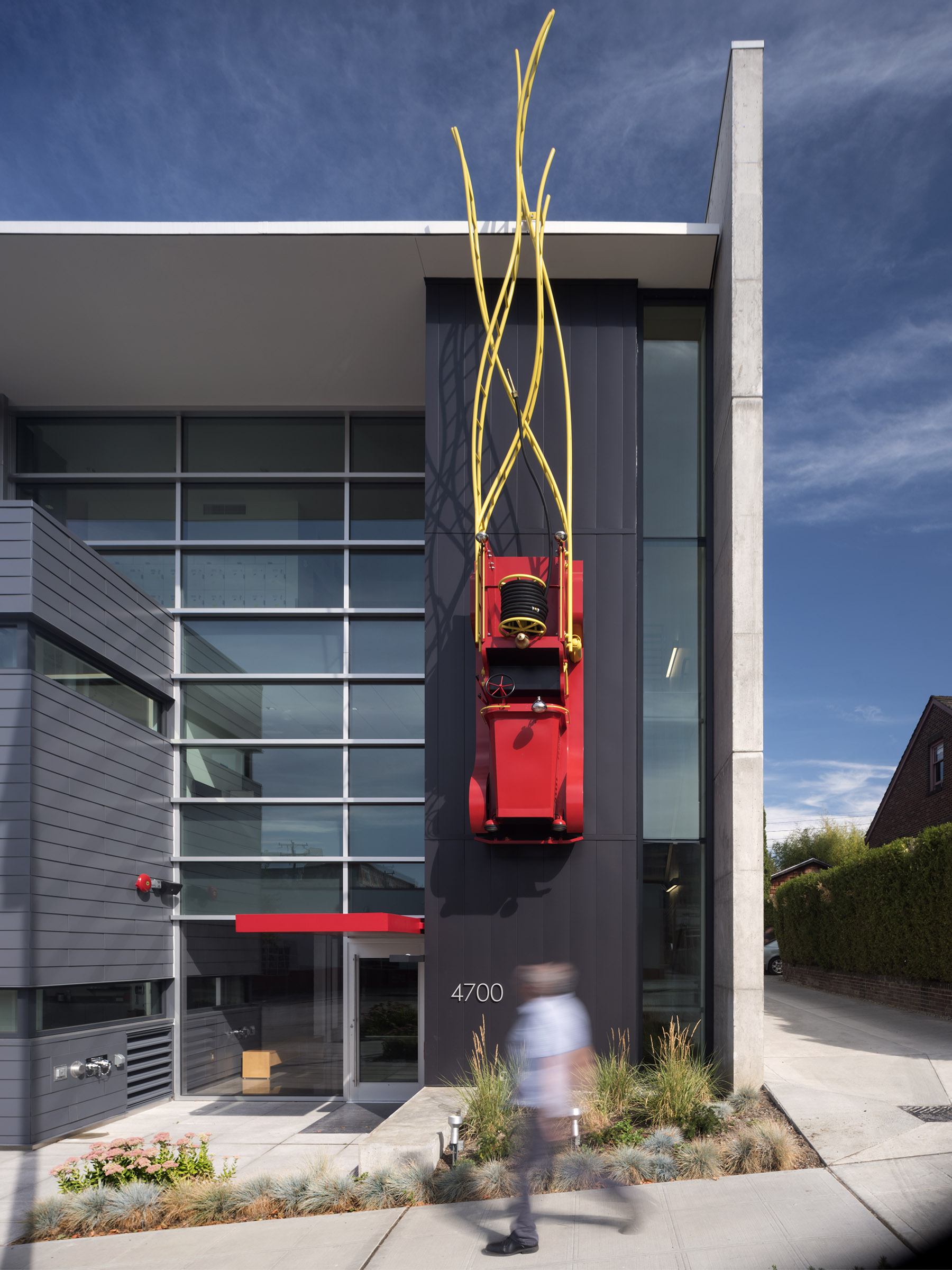 Seattle Fire Station 32 with TCA Architecture as Fire Station Design Expert Architect