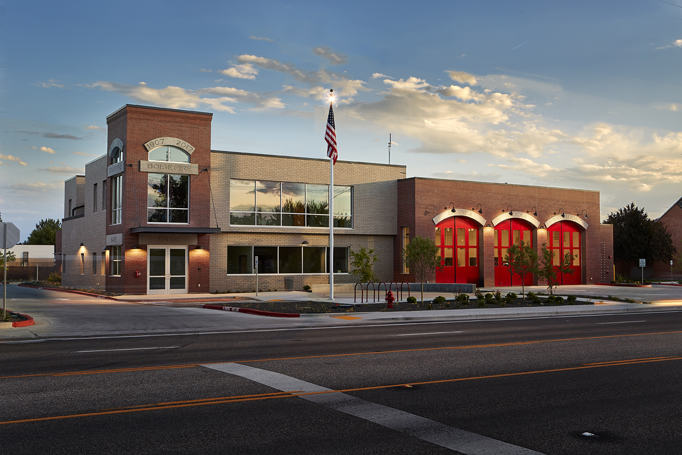 Seattle Fire Station Design Expect TCA Architecture designed this fire station for the City of Boise