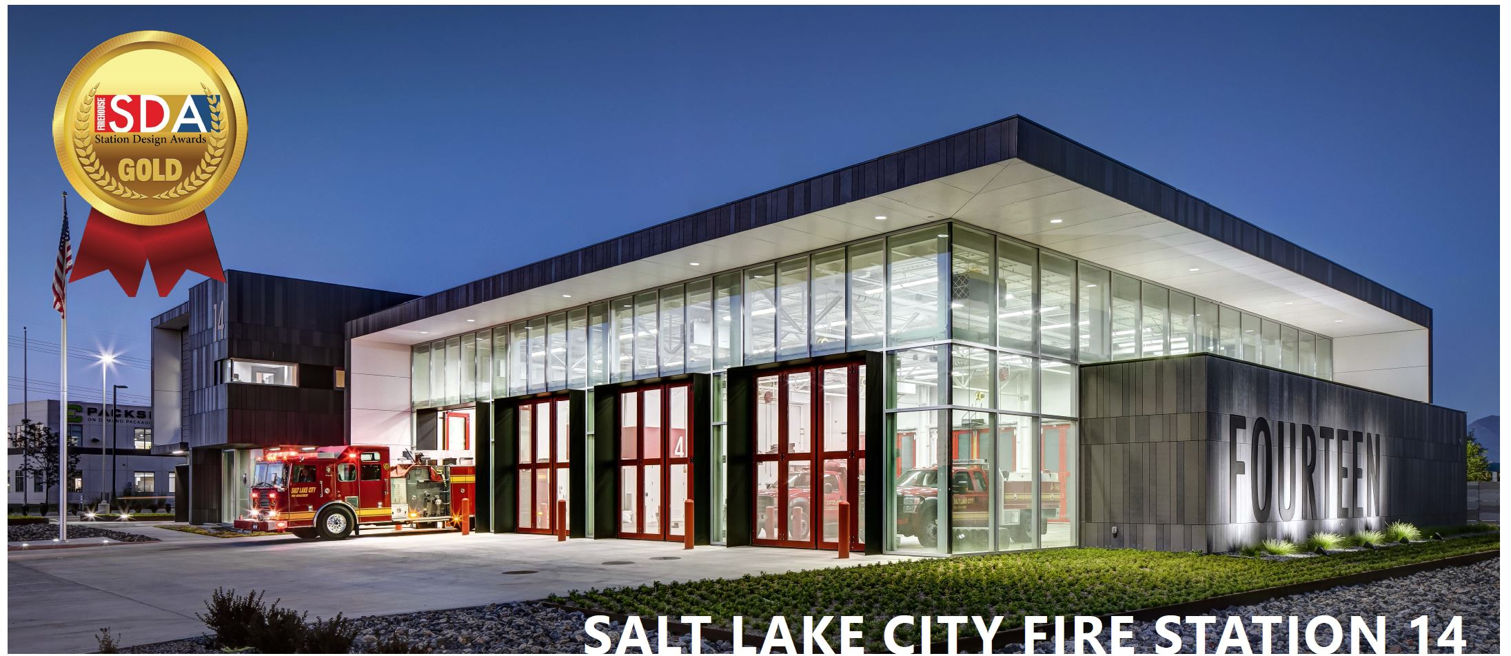 Salt Lake City Fire Station 14 Architecture