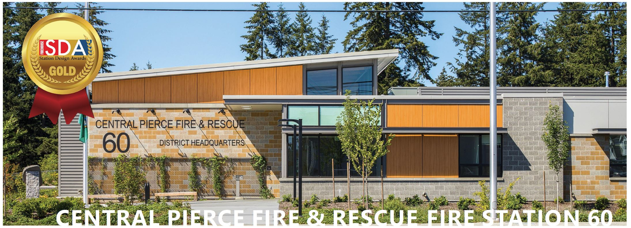 Central Pierce Fire and Rescue Fire Station 60 Architecture
