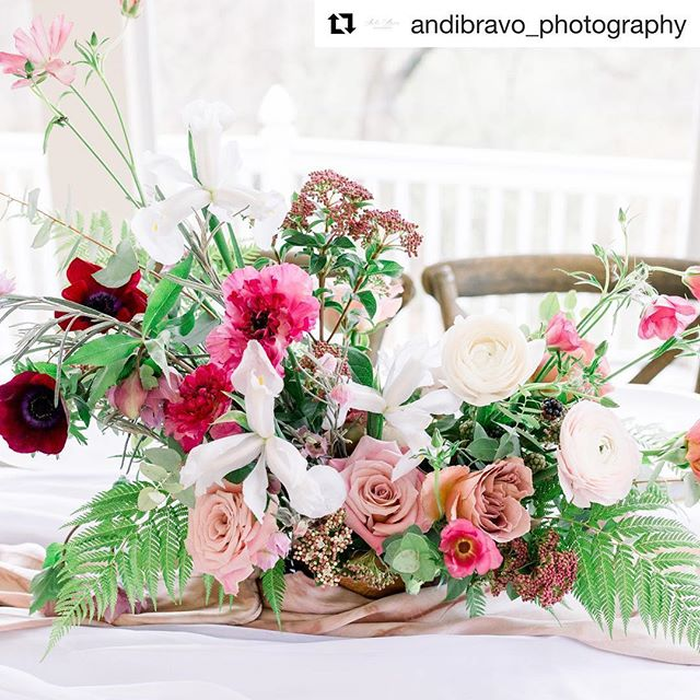 Love being a part of beautiful shoots. @crookedrootsdesign @glass_chapel @partyprorents @malynmade @andibravo_photography