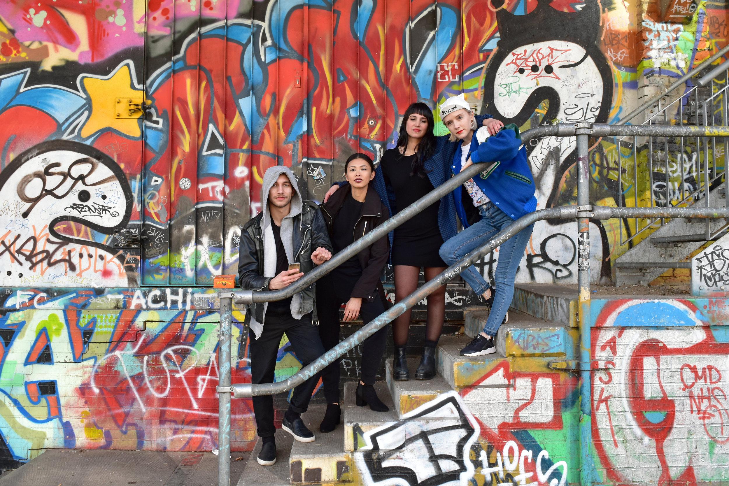 Behind the scenes, Berlin 2018