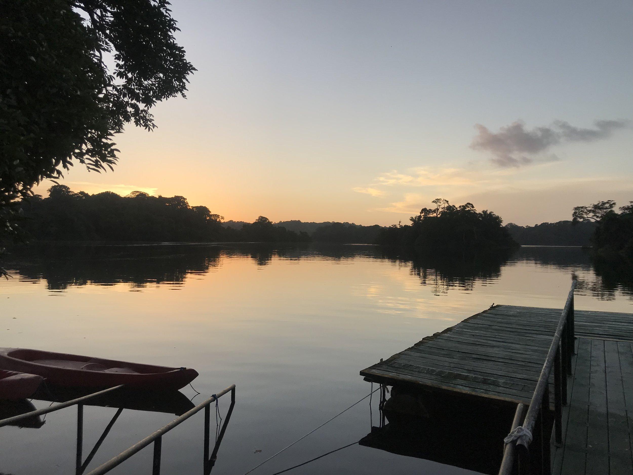 Lake Gatun. Kayak Time!