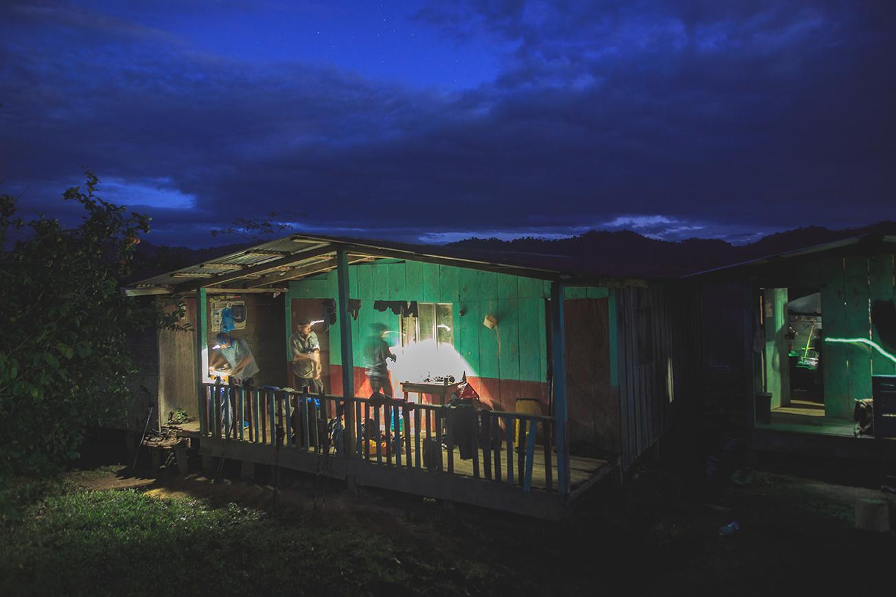 The shack that saved us. Photo: James Appleton