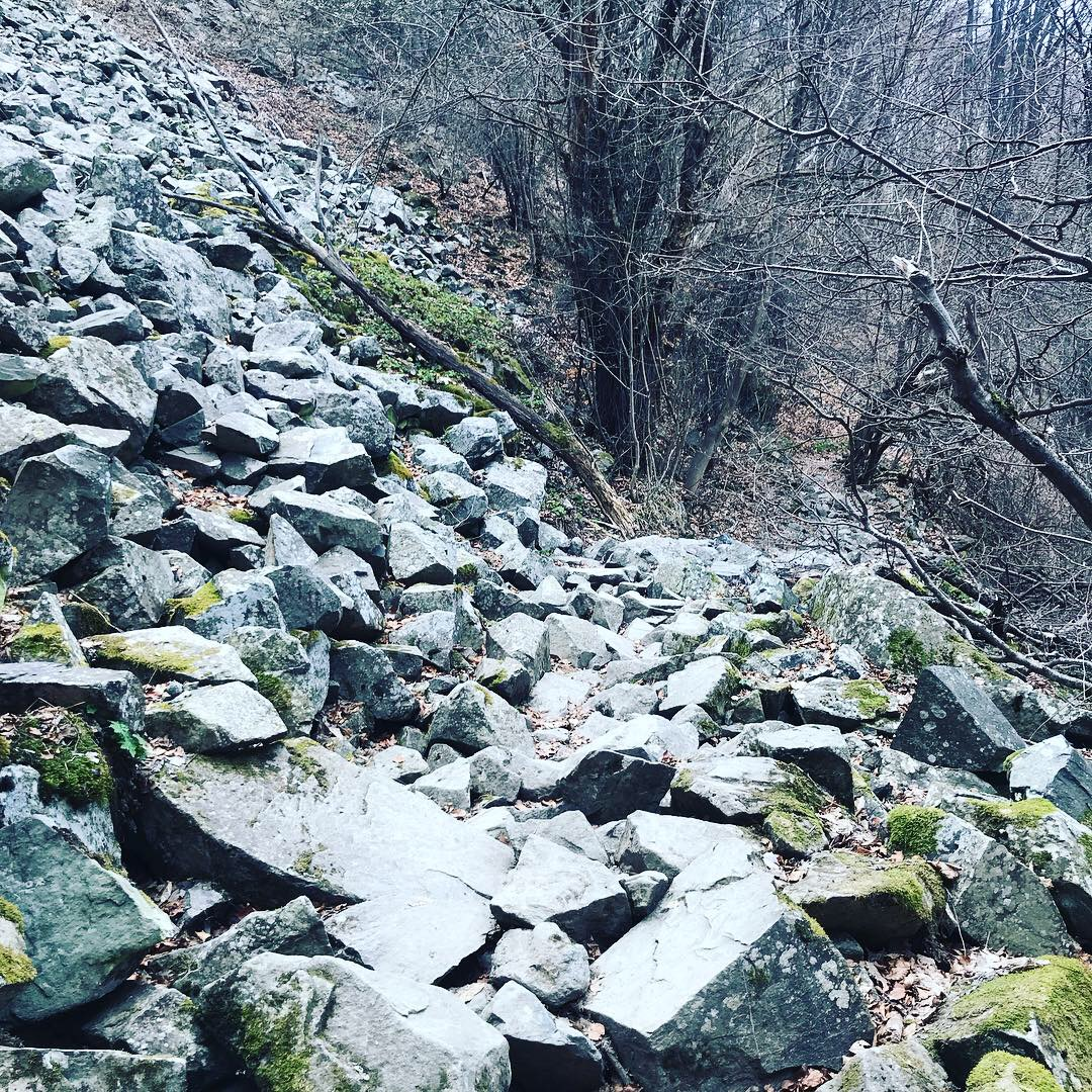 "Bulgarian trails - ""challenging""."