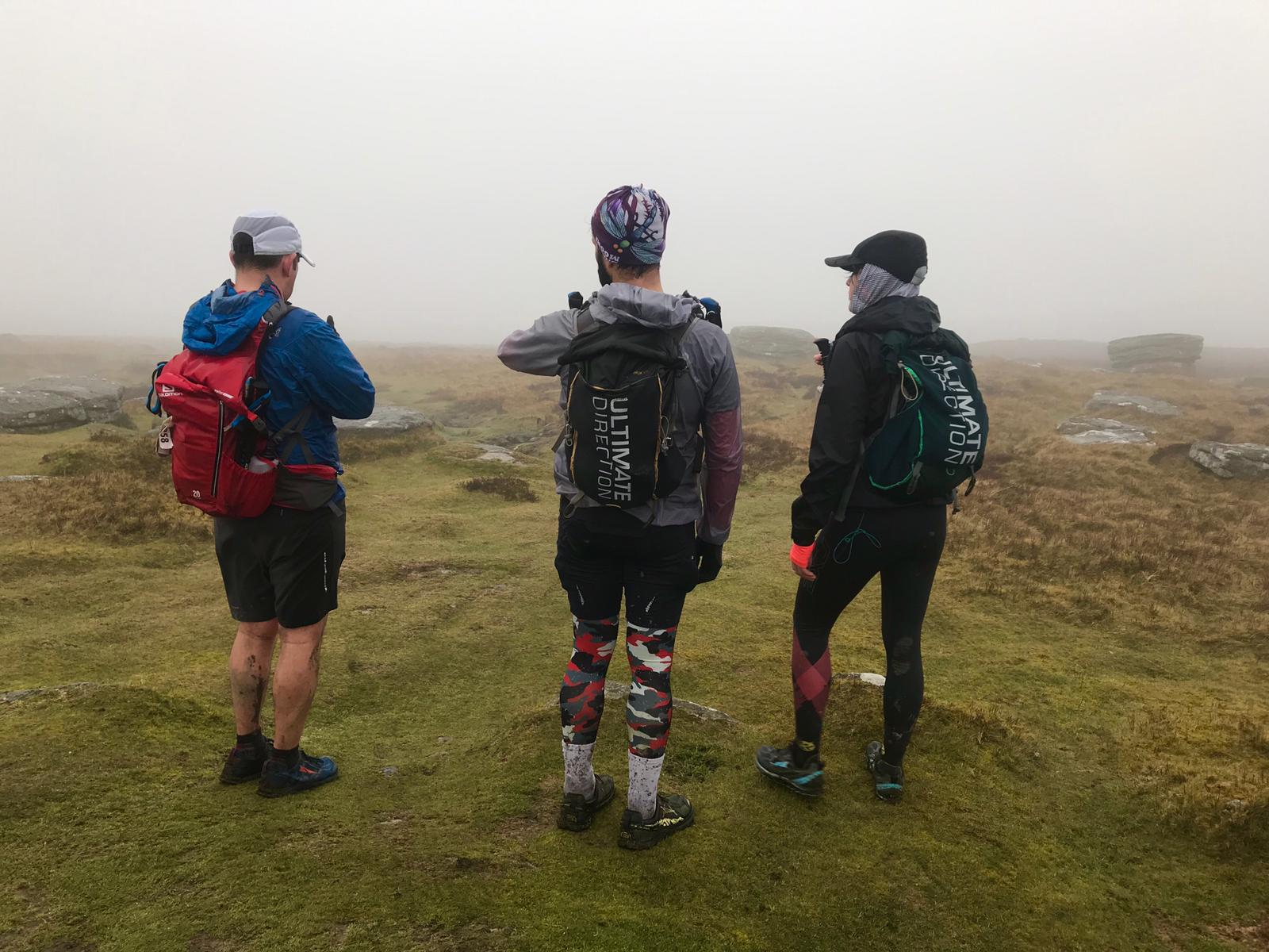 Dartmoor. Hostile, hilly and scary. And self navigation.