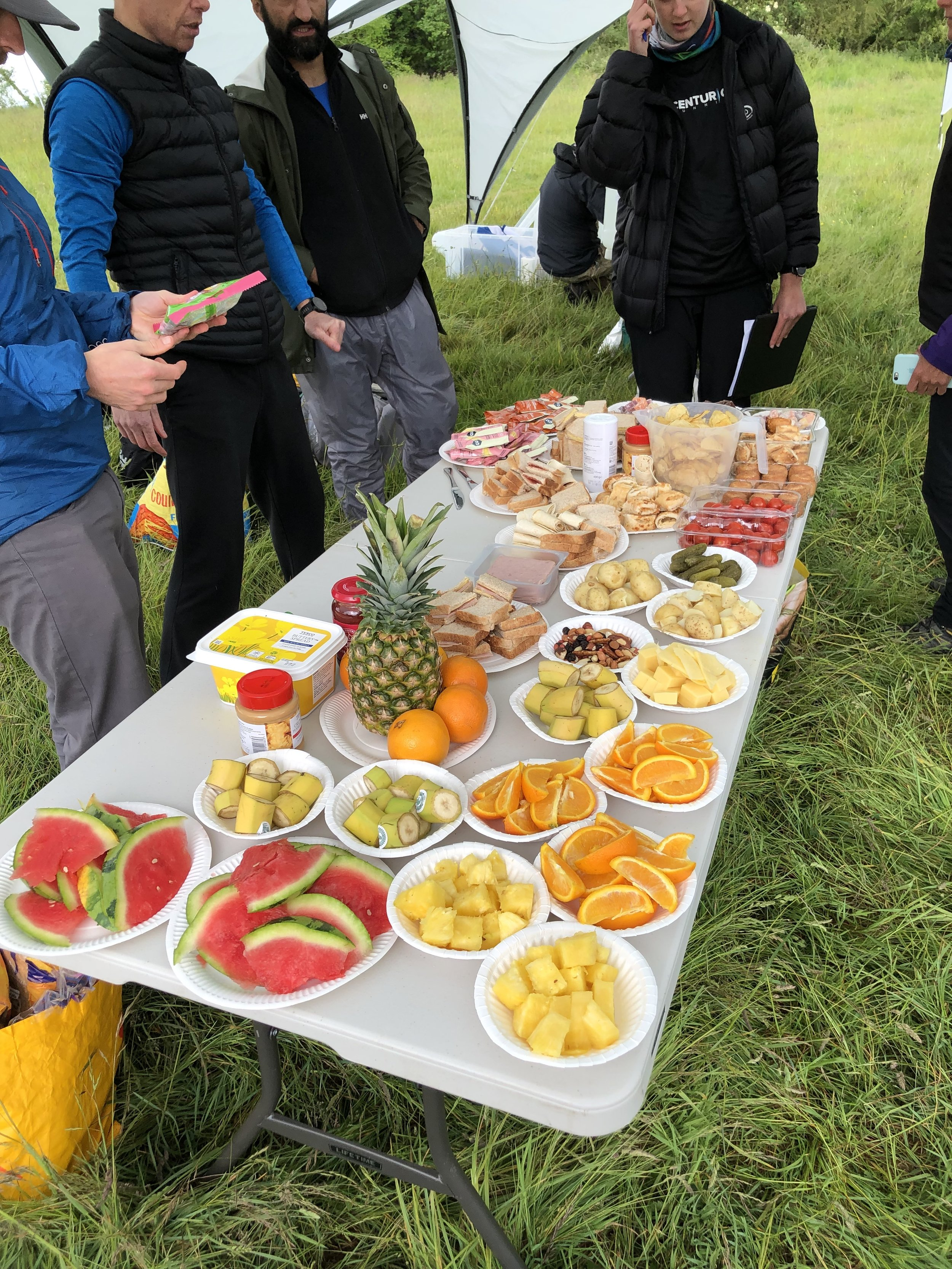 Yeah I like a fruit arrangement. Harting Downs opens for business!