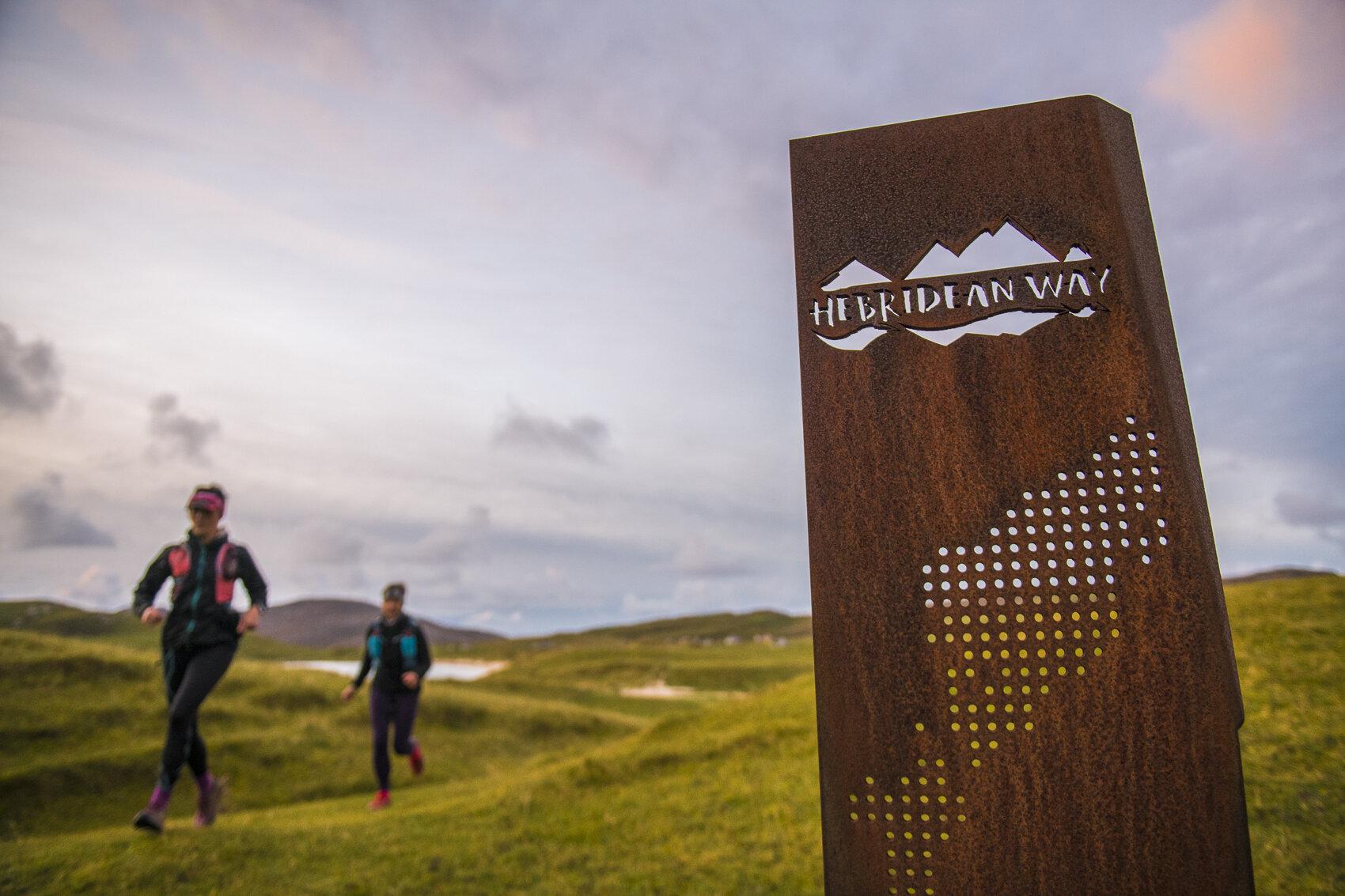 Girder! The start of the Hebridean Way  Photo: Leo Francis/Rat Race Adventure Sports