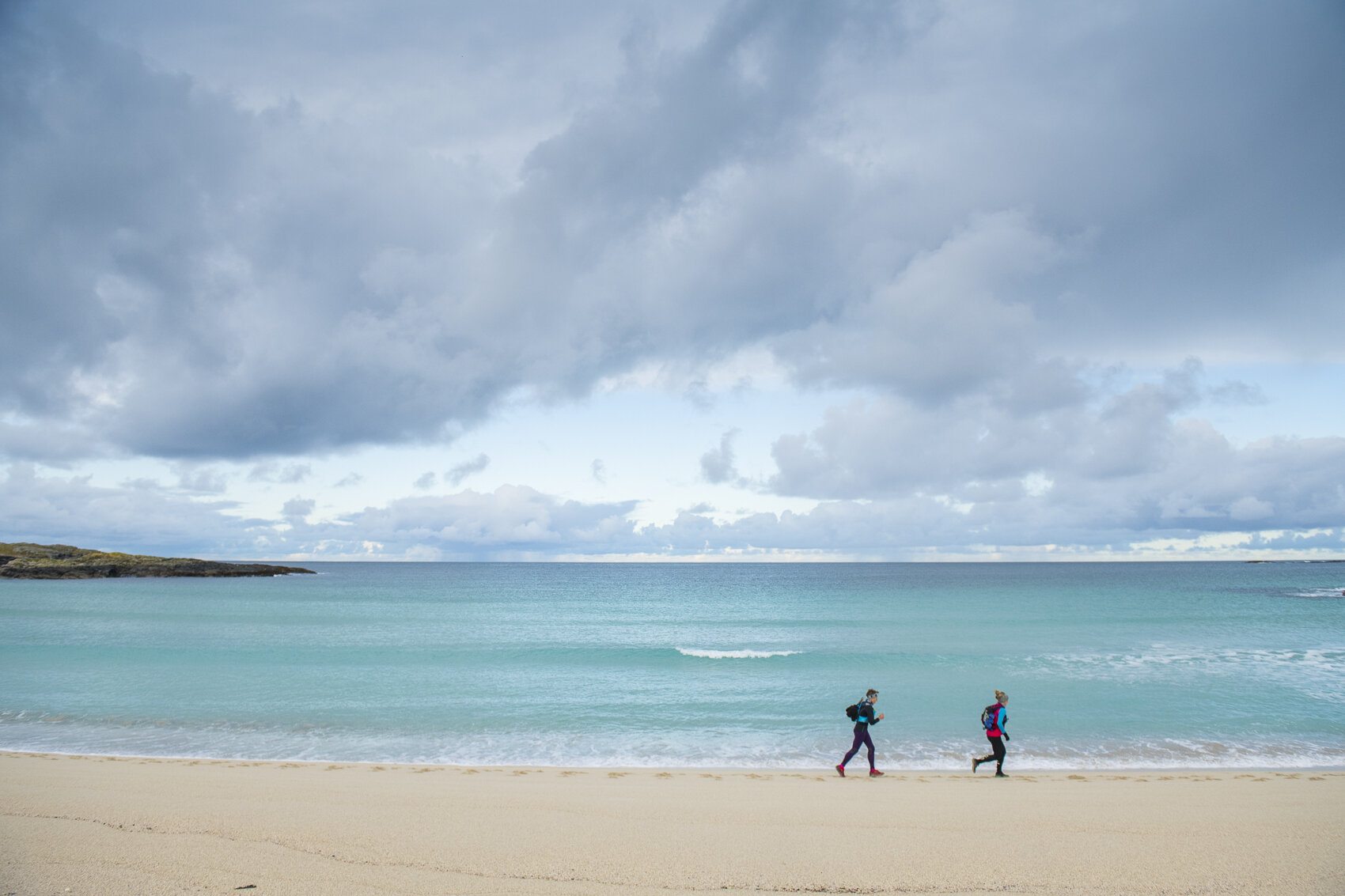 This is a photo of a real beach in Scotland. I know, right?  Photo: Leo Francis/Rat Race Adventure Sports