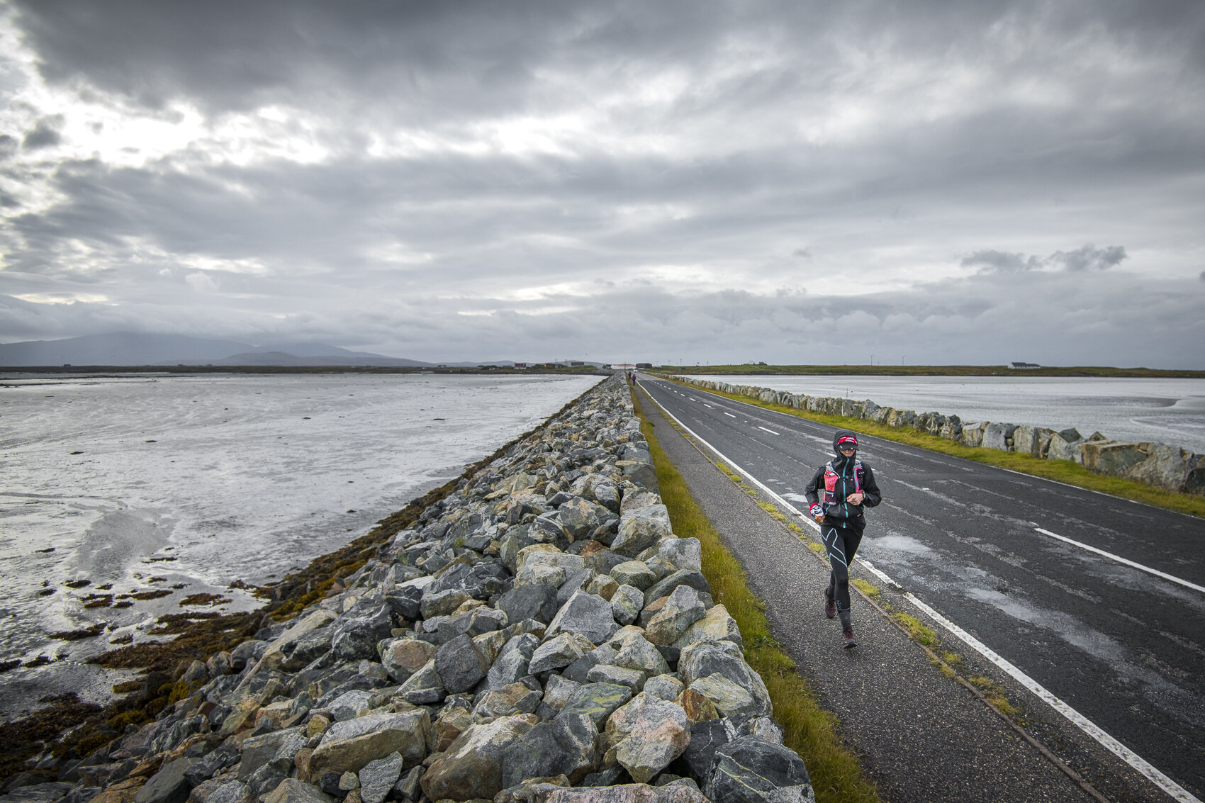 Causeways. Windy fuckers.  Photo: Leo Francis/Rat Race Adventure Sports