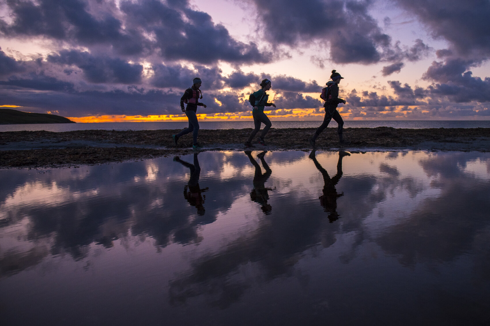 That sunset  Photo: Leo Francis/Rat Race Adventure Sports