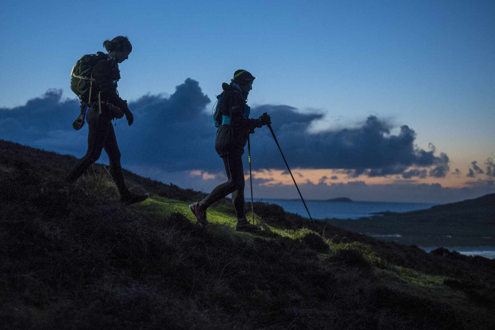 Night descents  Photo: Leo Francis/Rat Race Adventure Sports