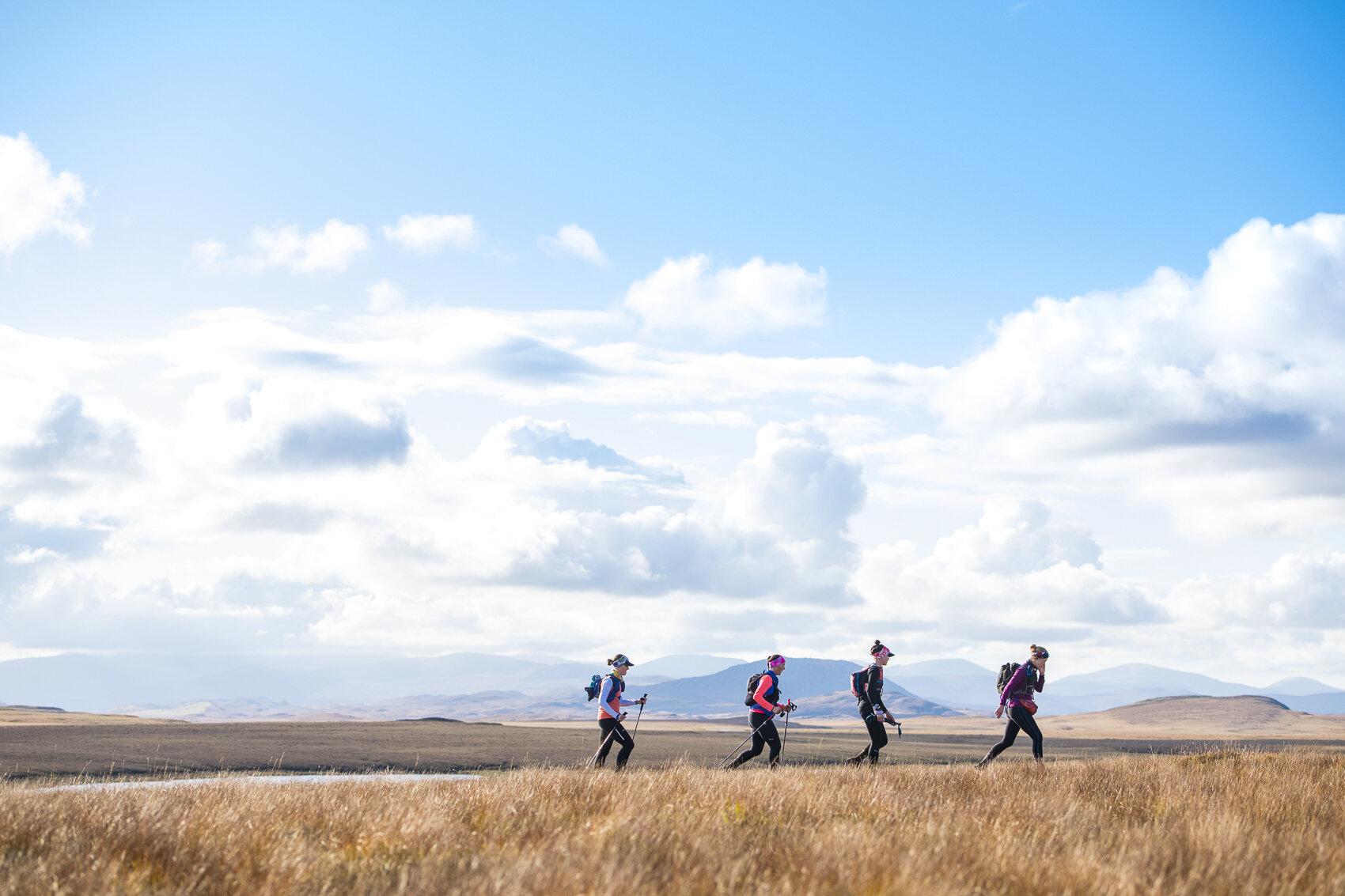The final bit of trail  Photo: Leo Francis/Rat Race Adventure Sports