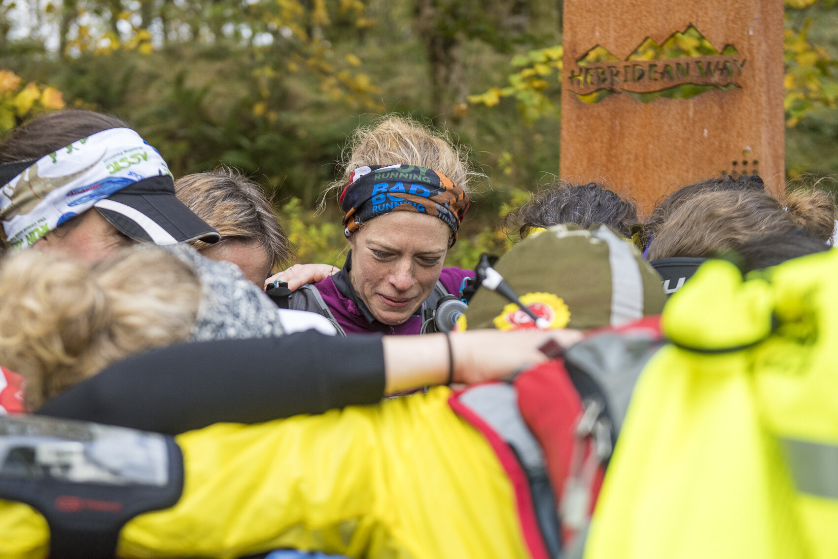 Lauras face says it all. We're done.  Photo: Leo Francis/Rat Race Adventure Sports