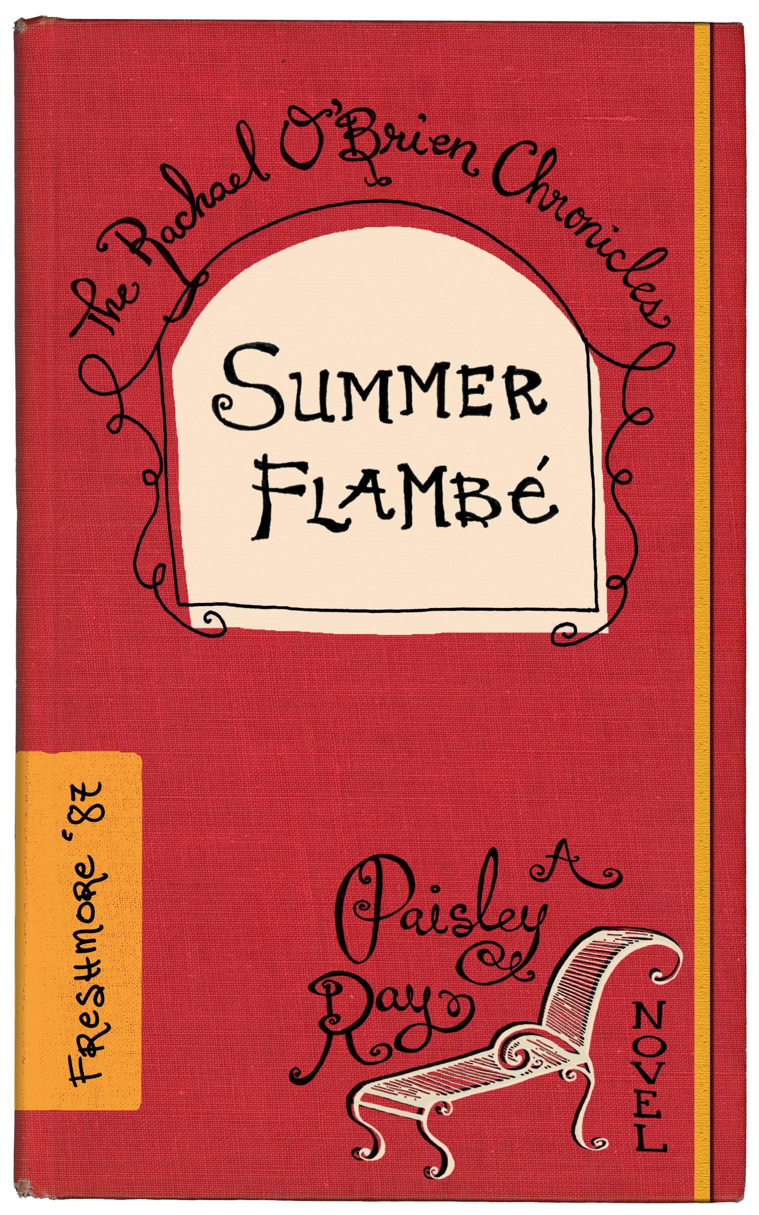 Summer Flambe mystery book