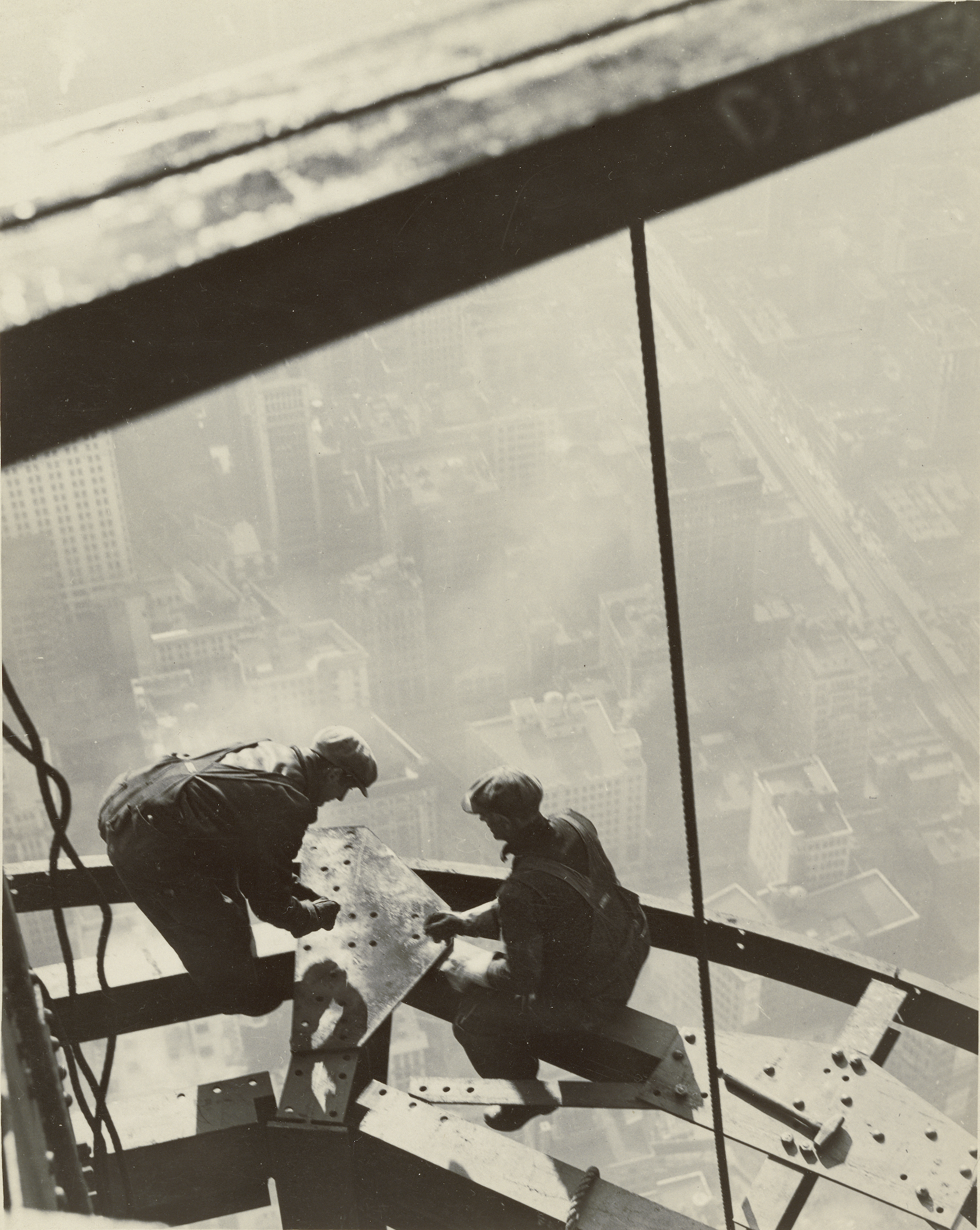 Lewis Hine,  Empire State Building , 1931