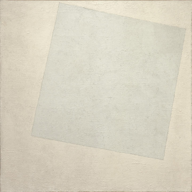 Kazimir Malevich, Suprematist Composition-White on White, 1918.jpg